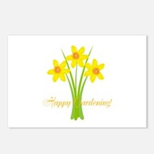 Watercolor Daffodils Gard Postcards (Package of 8)