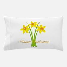 Watercolor Daffodils Gardener Pillow Case