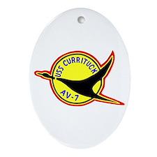 USS Currituck (AV 7) Oval Ornament