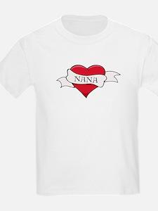 Nana Heart Tattoo T-Shirt