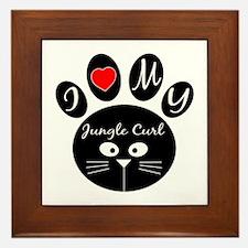 I love my Jungle-curl Framed Tile