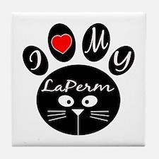 I love my LaPerm Tile Coaster