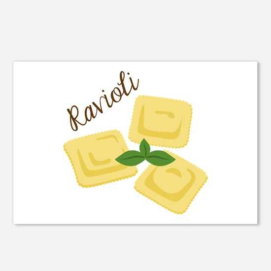 Ravioli Postcards (Package of 8)