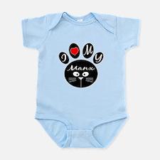 I love my Manx Infant Bodysuit