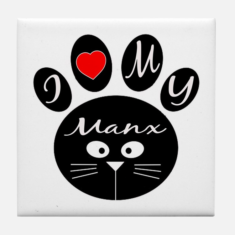 I love my Manx Tile Coaster