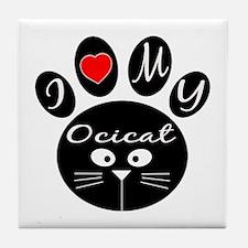 I love my Ocicat Tile Coaster
