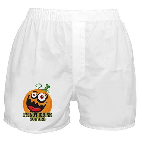 Drunk Pumpkin Boxer Shorts