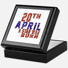 20 April A Star Was Born Keepsake Box