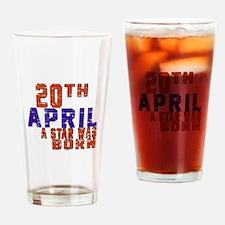 20 April A Star Was Born Drinking Glass