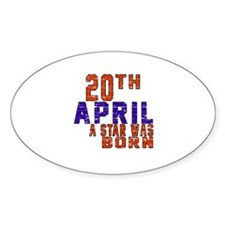20 April A Star Was Born Decal