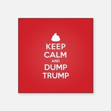 Keep Calm Dump Trump Sticker