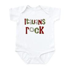 Italians Rock Italy Souvenir Infant Bodysuit