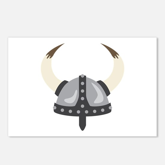 Viking Helmet Postcards (Package of 8)