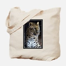 Cute Amur leopard Tote Bag