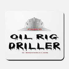 Oil Rig Driller Mousepad