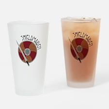 Shield Maiden Drinking Glass