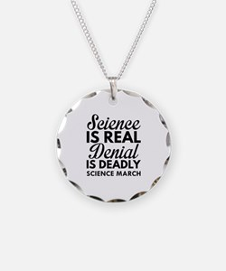 Science Is Real Necklace
