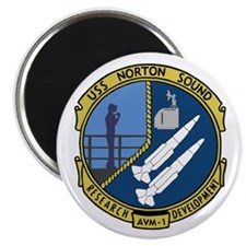 "USS Norton Sound (AVM 1) 2.25"" Magnet (100 pack)"