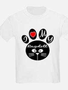 I love my Ragdoll T-Shirt