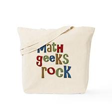 Math Geeks Rock Nerd Humor Tote Bag