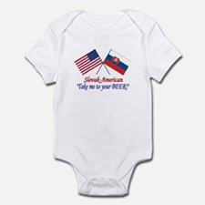 Slovak/American 1 Infant Bodysuit