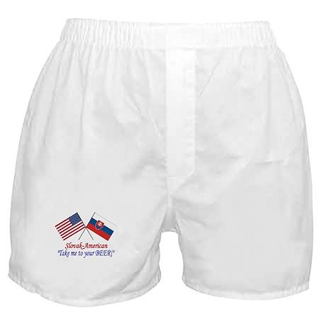 Slovak/American 1 Boxer Shorts