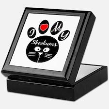 I love my skookums Keepsake Box