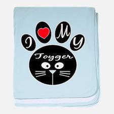 I love my Toyger baby blanket