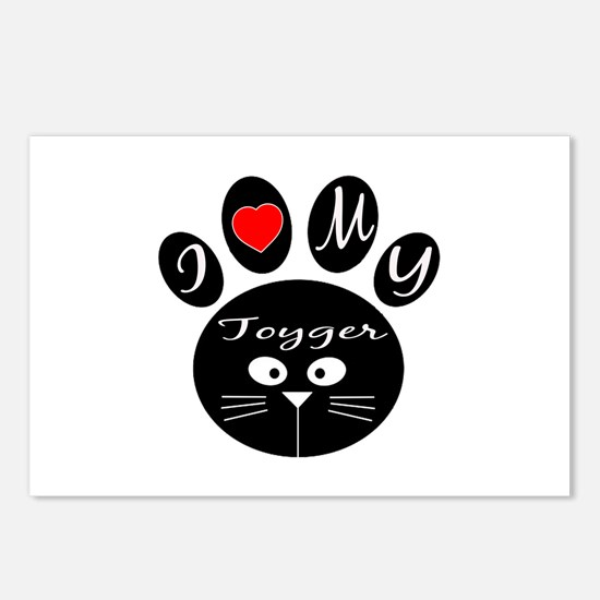 I love my Toyger Postcards (Package of 8)
