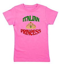 Cute Italian american pride Girl's Tee