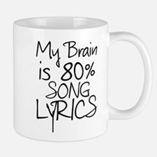 Music Song Lyrics Mugs