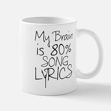 Music Song Lyrics Mugs