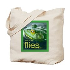 Frog & Flies Tote Bag