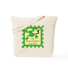 My Nonna & Nonno Love Me! FROG Tote Bag