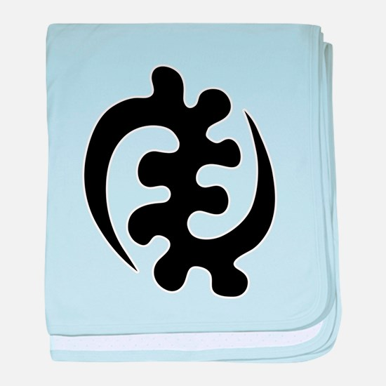 gye nyame africa symbol ghana baby blanket