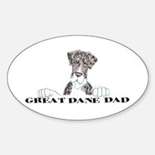 NMtlMrl LO Dad Oval Decal
