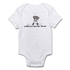 NMtlMrl LO Dad Infant Bodysuit