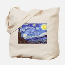 'The Starry Night' Van Gogh Tote Bag