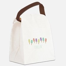 Chillin Popsicles Canvas Lunch Bag