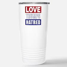 Love Trumps Hatred Travel Mug