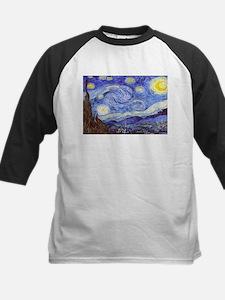 'The Starry Night' Van Gogh Baseball Jersey