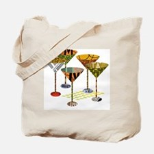 Cute Martini Tote Bag
