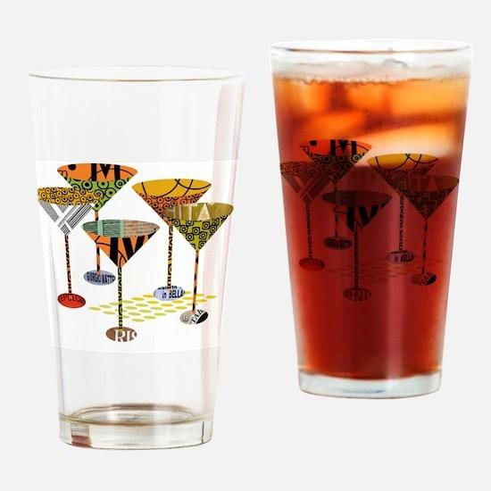 Cute Martini Drinking Glass