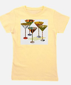Cute Cocktail Girl's Tee