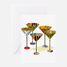 Martini Forest Greeting Cards