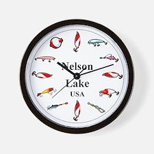 Nelson Lake Clocks Wall Clock