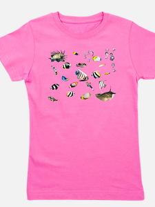 Cool Tropical fish Girl's Tee