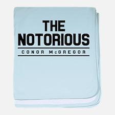 Conor McGregor baby blanket