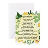 St patricks breastplate Greeting Cards (10 Pack)
