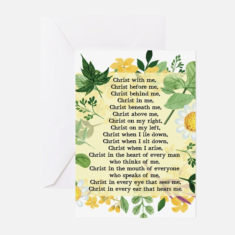 St. Patrick's Breastplate Greeting Cards